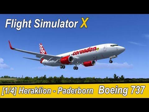 microsoft-flight-simulator-x-teil-958-heraklion---paderborn- -corendon-b737- -deutsch- -liongamer1