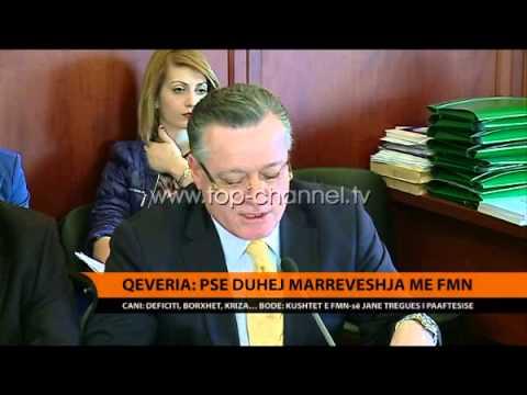 Qeveria: Ja pse duhet marreveshja me FMN - Top Channel Albania - News - Lajme