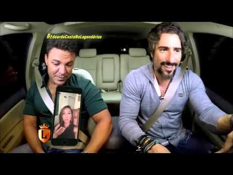 Eduardo Costa pega carona com Mion e faz revelações sobre sua vida
