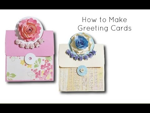 DIY Crafts: how to make greeting cards at home