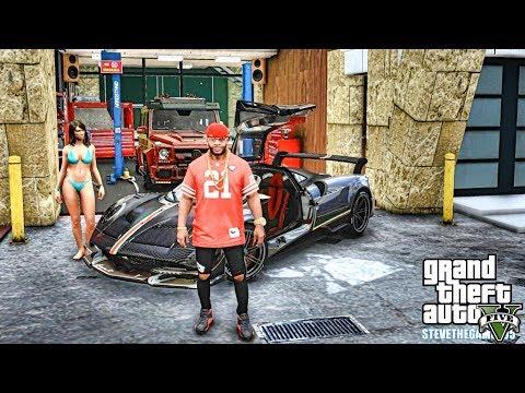 GTA 5 REAL LIFE MOD #594 - STAYING AT MOUNT CHILLIAD!!! (GTA 5 REAL LIFE MODS)