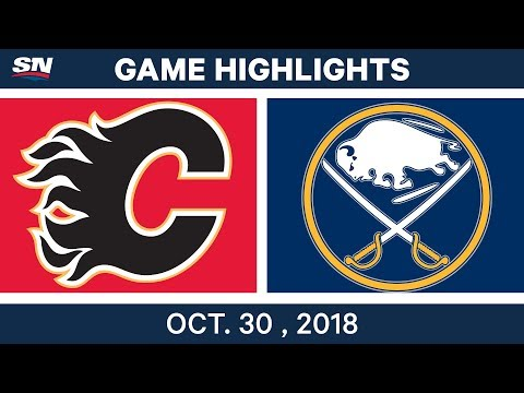 NHL Highlights | Flames vs. Sabres - Oct. 30, 2018
