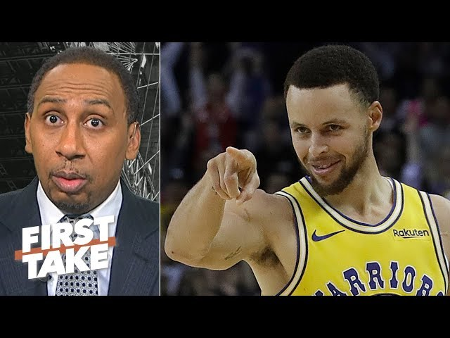 The Raptors might get swept if Steph Curry gets hot in the NBA Finals - Stephen A. | First Take