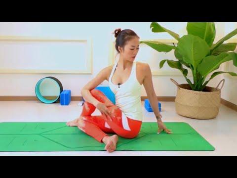 Yoga BUỔI SÁNG cùng Sophie  ♡ Bài 5  - THẢI ĐỘC & GIÃN CƠ 30 phút ♡ Yoga By Sophie