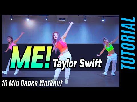 [Live Tutorial] Taylor Swift - ME! | Cardio Dance Workout | 마일리(MYLEE) 다이어트 댄스 배우기 thumbnail
