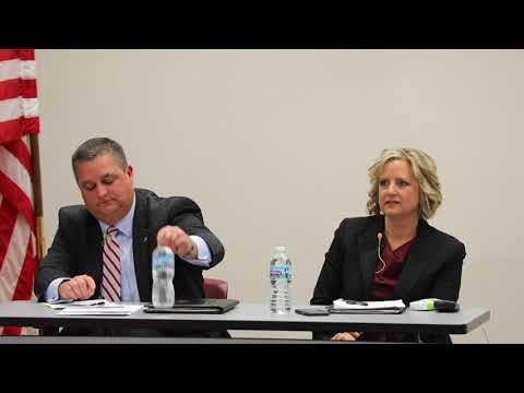 Beth Ellis, Shane Wilkin public forum
