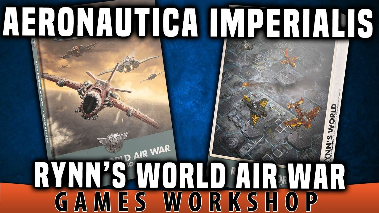 Warhammer Aeronautica Imperialis Rynn/'s World Air War Campaign Book