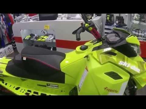 Обзор Ski Doo Freeride 137 800 E-TEC
