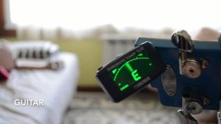 BOSS - TU-01 Clip-On Chromatic Tuner (UNBOXING/TEST)