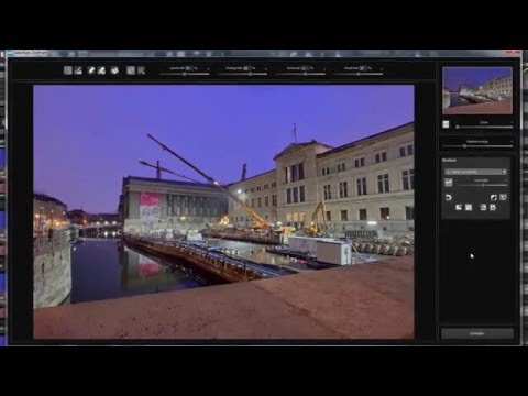 English tutorial: HDR projects 4 - Selective Editing