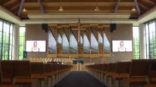 St. Andrew's Church – LED vs. Projection