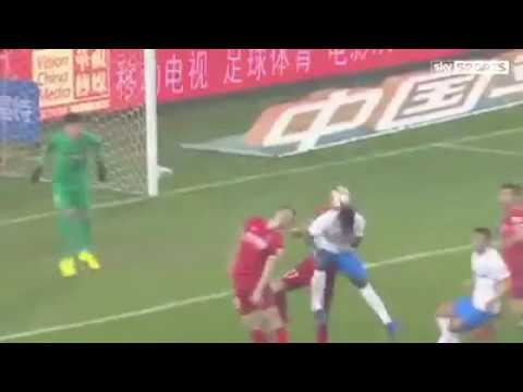 Mikel scores his first goal in China