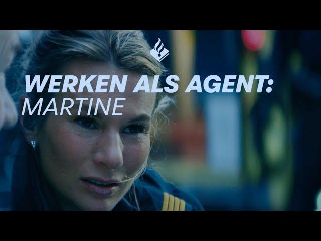 Werken bij de politie: agent Martine
