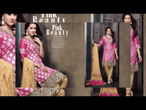 Salwar Kameez Beautiful Latest Banarasi Suits Collection for 2016 | latest fashion designs dresses