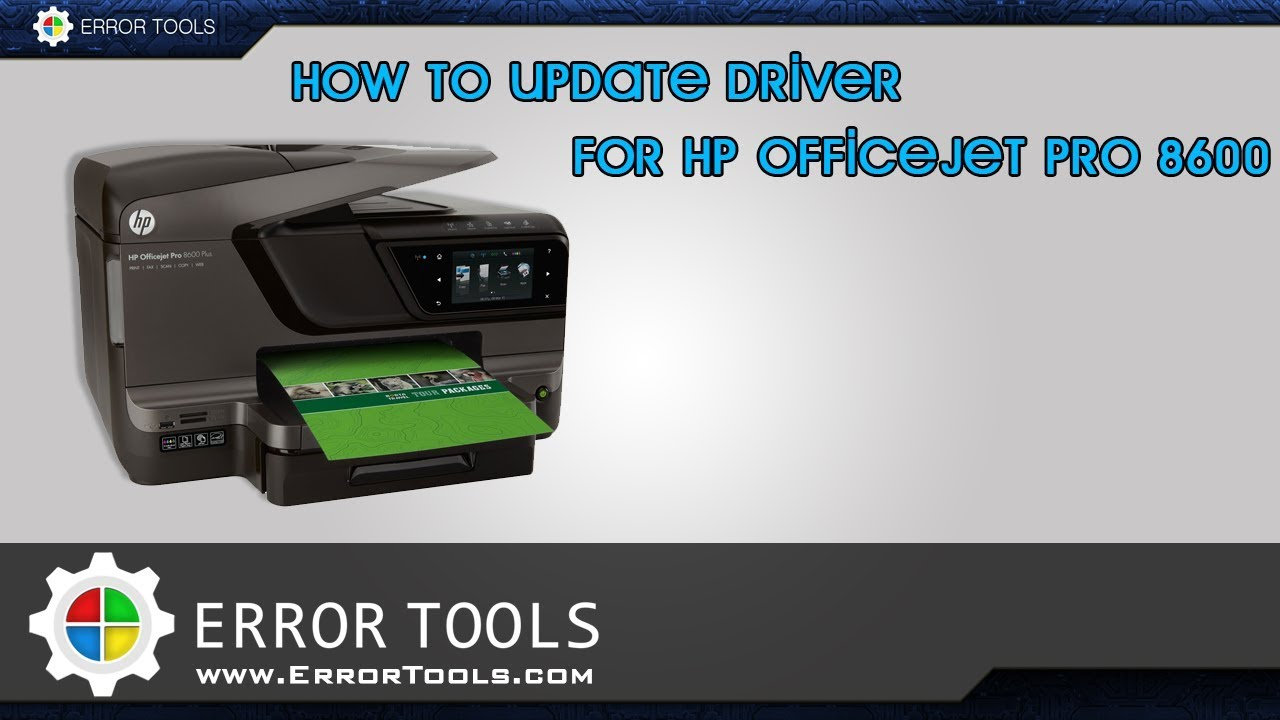 download driver hp officejet pro 8600 series
