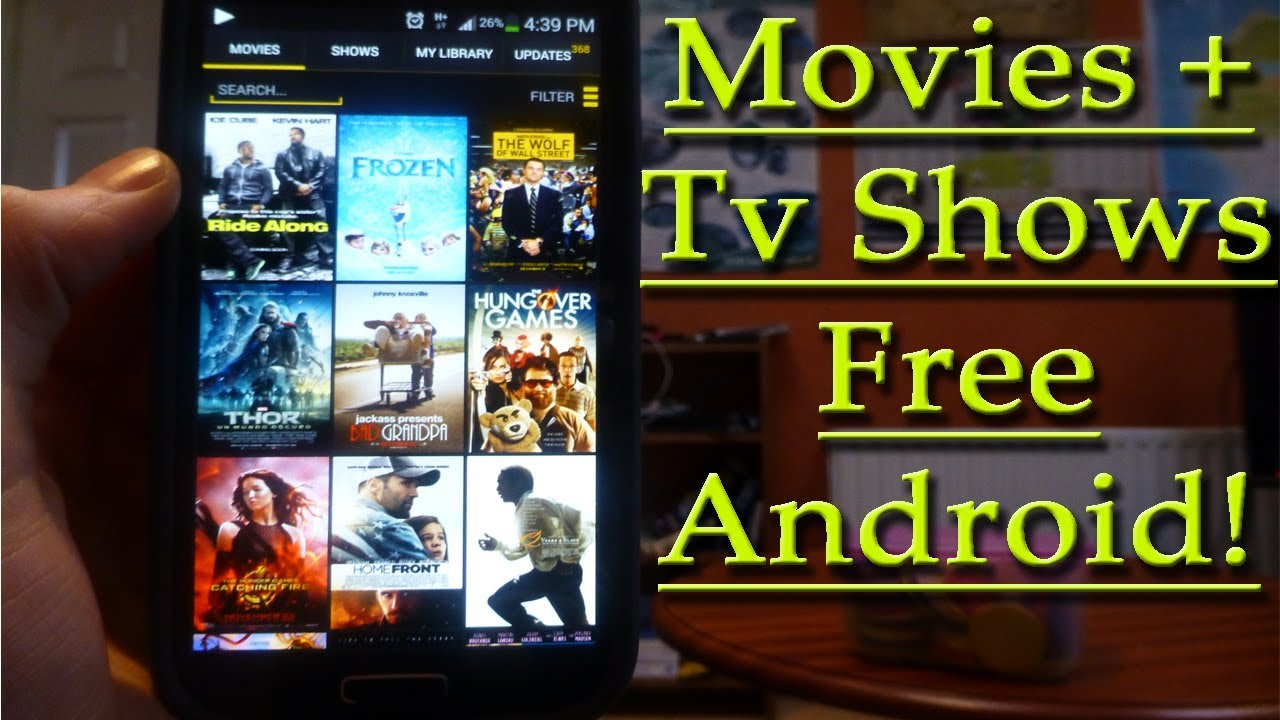 BEST App For Watching Movies & Tv Shows!!Android - YouTube