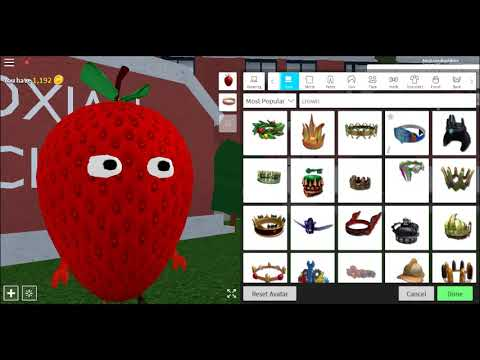 Sammy The Strawberry Roblox How To Make Sammy The Strawberry In Robloxian High School Youtube