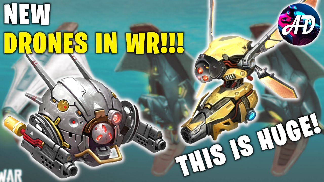 NEW DRONES On War Robots - First Look - War Robots NEWS And LEAKS