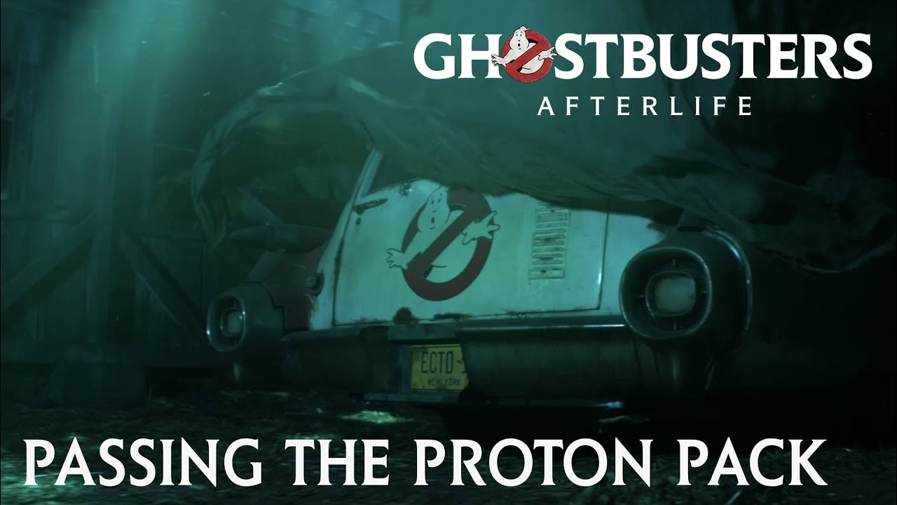 GHOSTBUSTERS: AFTERLIFE Vignette - Passing the Proton Pack
