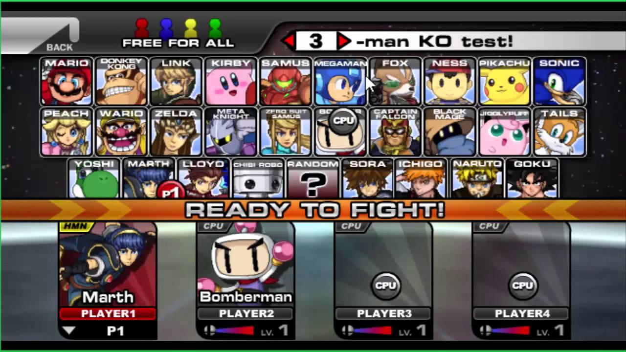 Smash Bros Flash 3