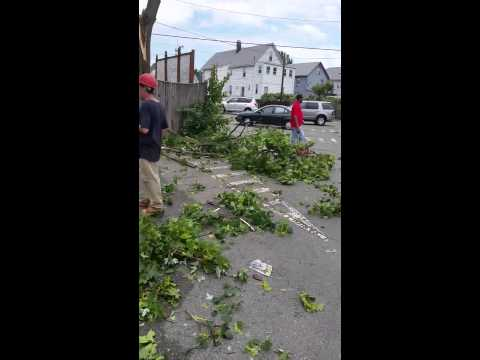 Tornado in Revere, Massachusetts