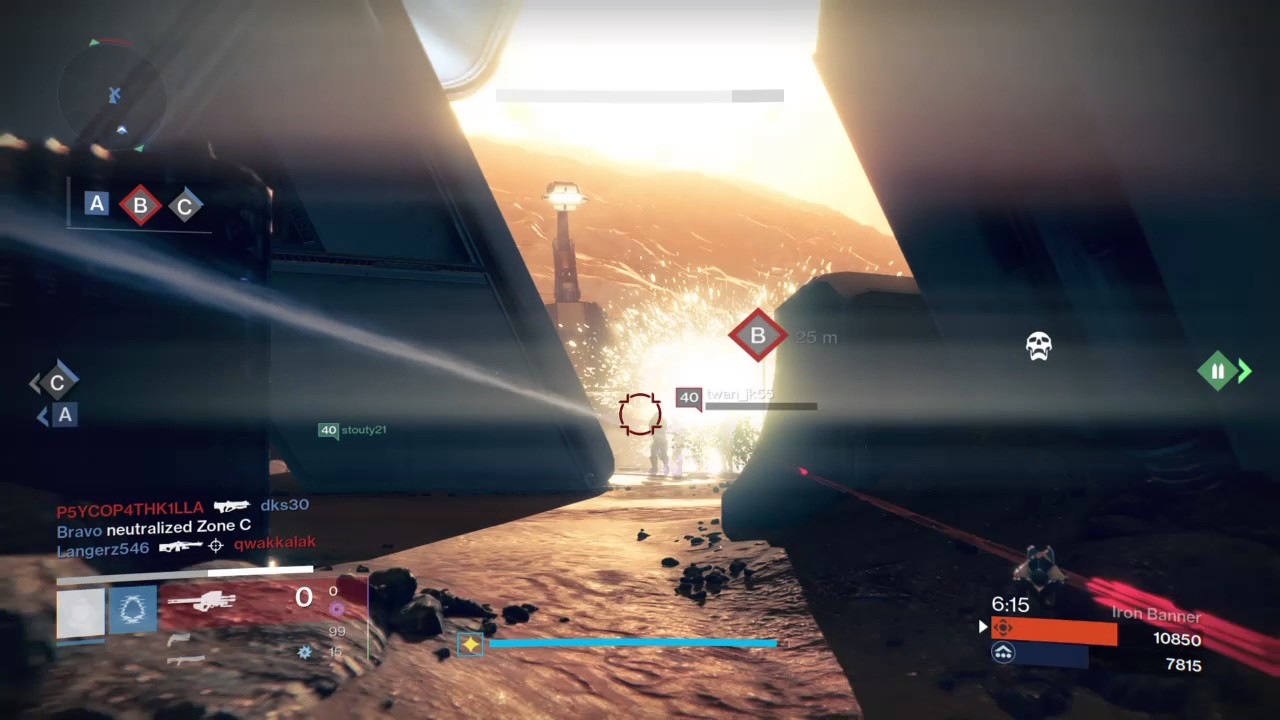 matchmaking not working destiny
