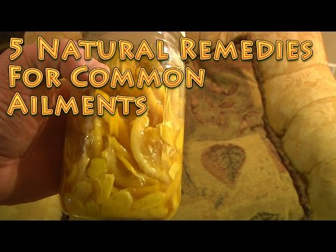 5 Natural Remedies for Common Ailments