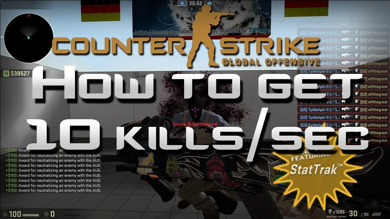How To Farm StatTrack Kills In CS:GO - 50,000+ Kills/Hour (2019 Tutorial)