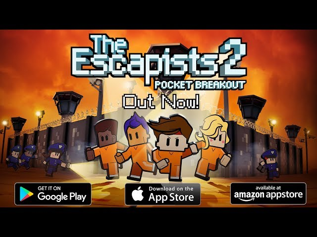 The Escapists 2 Pocket Breakout Is Officially Available On