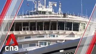 COVID-19: Cambodian authorities to test passengers from Westerdam cruise ship