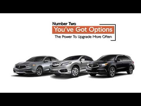 Gillman Acura Luxury Lease Package