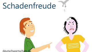 Schadenfreude - Deutsch lernen - Wortschatz 0035