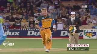 From the Vault: Brett Lee destroys India