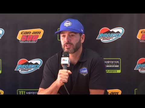 Phoenix mission clear for Jimmie Johnson: