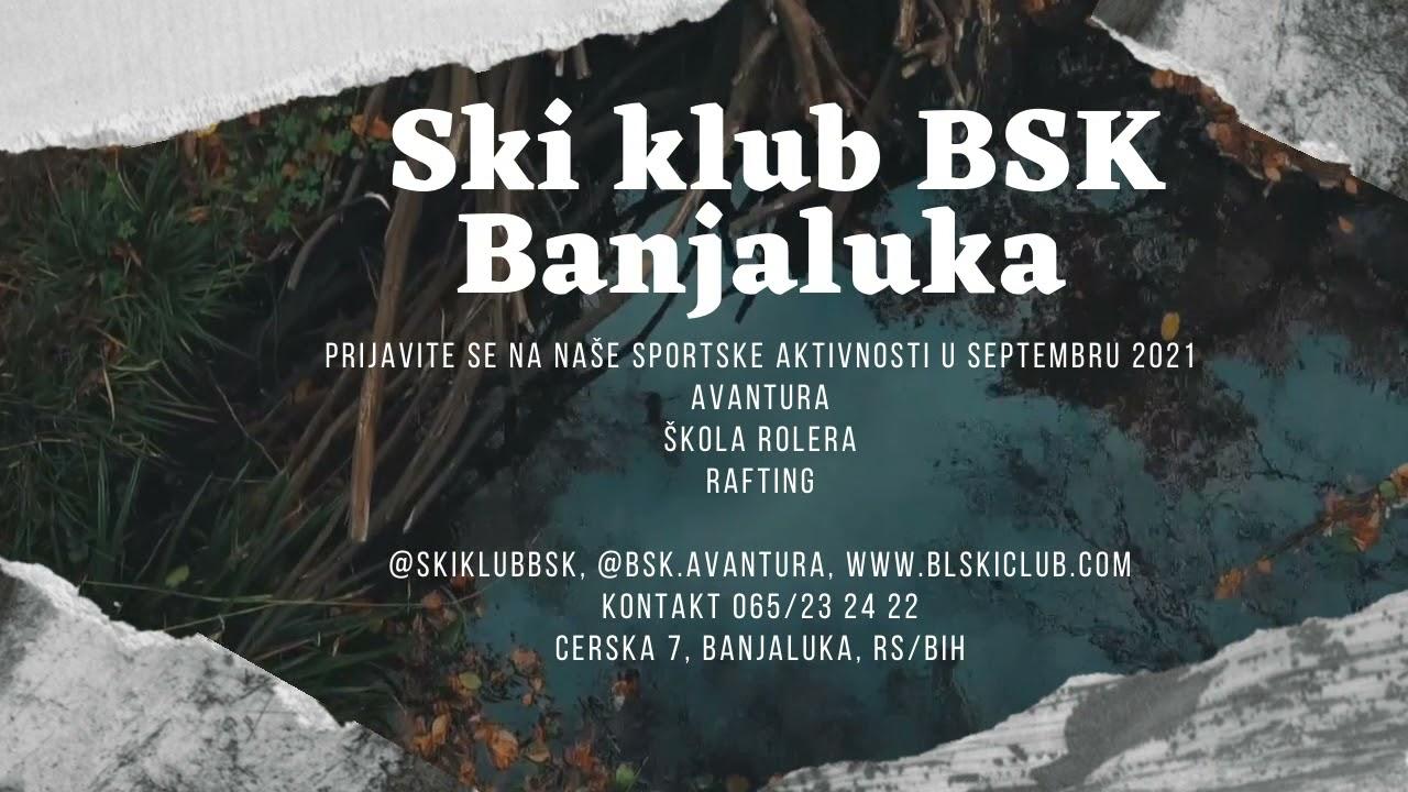 """Ski klub BSK - Aktivnosti septembar 2021"""
