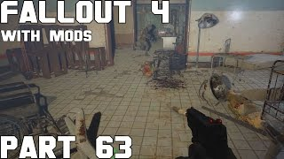 """Fallout 4 Walkthrough with Mods Part 63 - The """"Transformed"""" in vault 1080"""