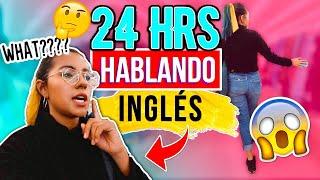 24 HORAS HABLANDO SOLO INGLÉS | Michmoon