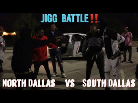 North Dallas vs. South Dallas (OFFICIAL JIGG BATTLE) Who Won?