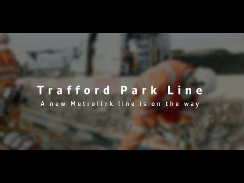 Major Milestone for Metrolink Trafford Park Line (FULL VIDEO)