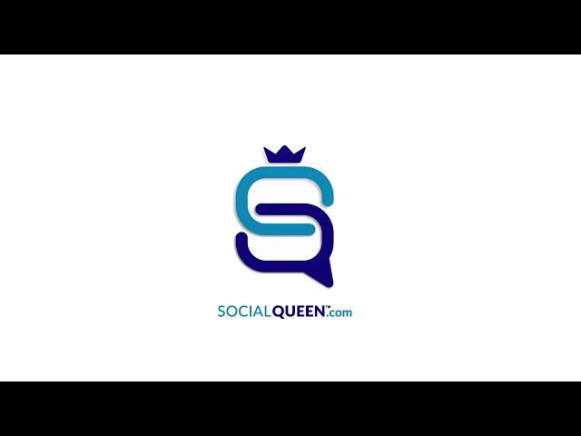 SocialQueen™.com - logo reveal