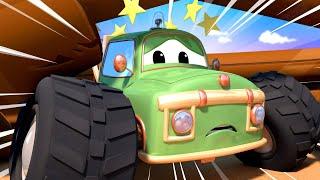 Детские мультфильмы с грузовиками Детские мультики с грузовиками Мо засыпало Монстр Трака