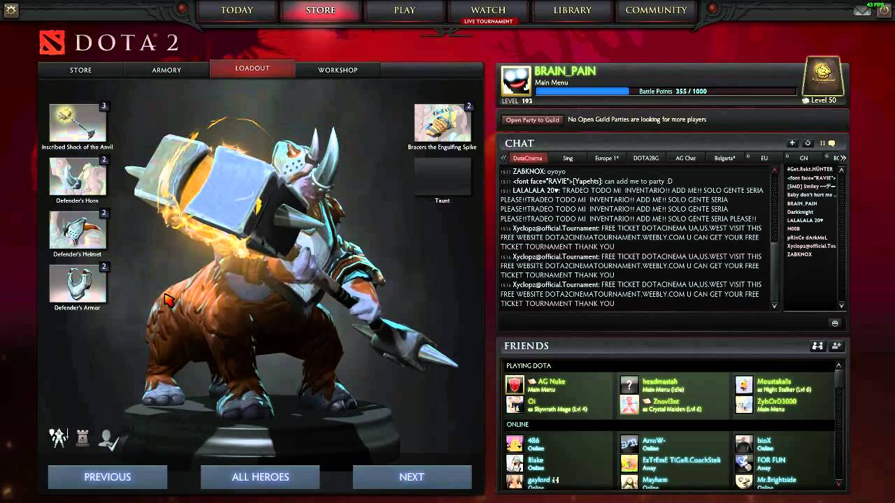 Dota 2 S Immortal Treasure 3 Launches: Dota 2 Compendium 2015 New Items Immortal Treasure I