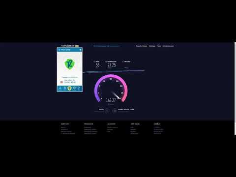 Trust.Zone Speed Test - Cheyenne Wyoming VPN Server 2017-09-27