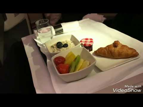 Cathay Pacific B777 business class review (LHR-HKG)