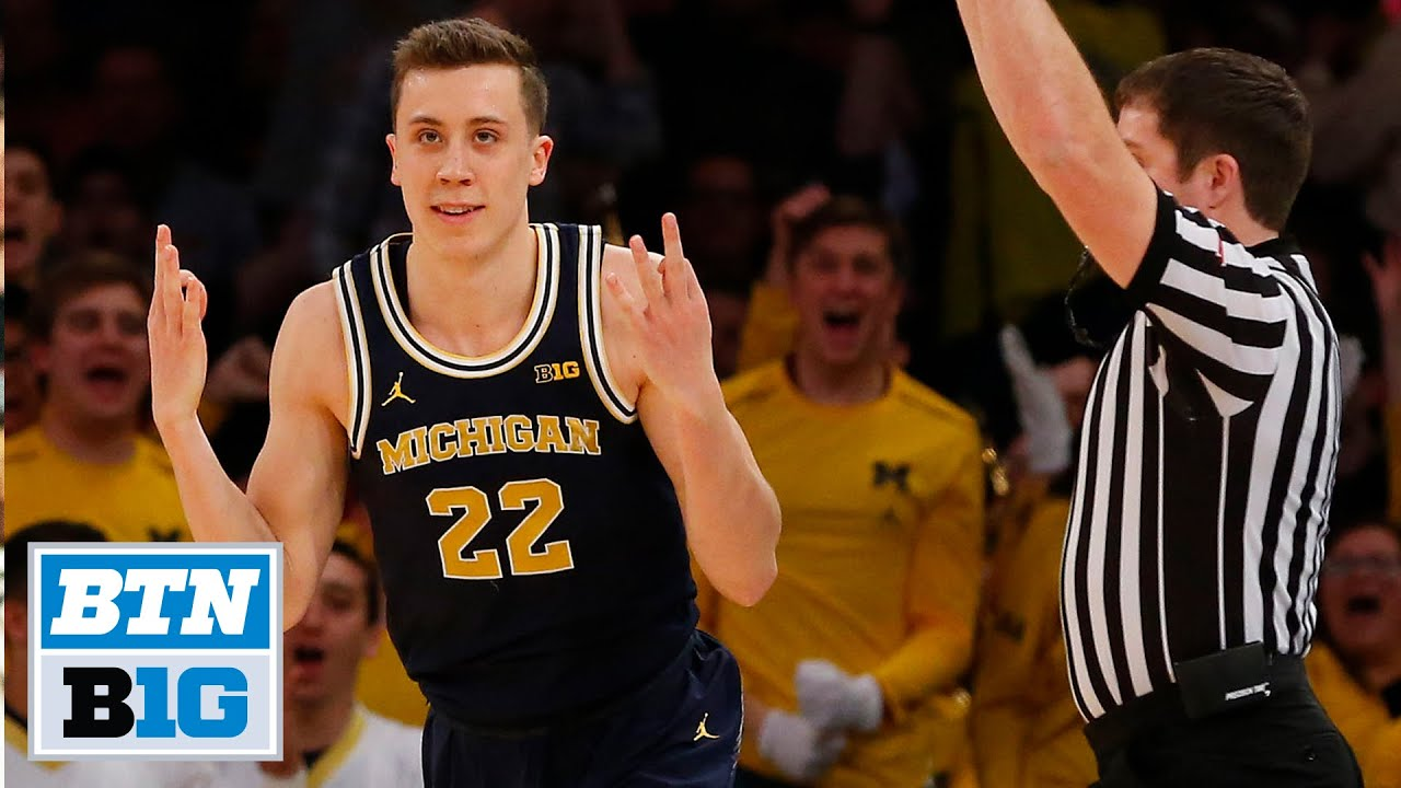 Every Duncan Robinson Three Pointer As A Michigan Wolverine B1g Basketball Youtube
