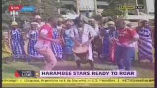 KTN News reporters break into Isukuti dance for Harambee Stars   #KTNScoreline