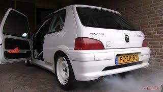 I drive my Peugeot 106 Rallye again after 5 months of hibernation!