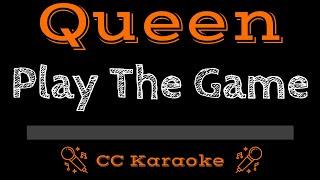 Queen • Play The Game (CC) [Karaoke Instrumental Lyrics]