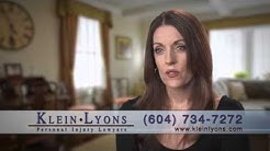 Klein Lyons goes to bat with ICBC for Lisa's car accident claim