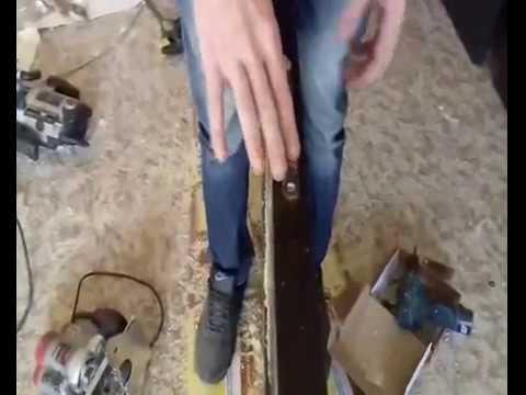 Шаблон для врезки петель - YouTube